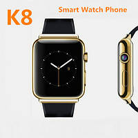 Smart watch Smart K8 для iOS/Android Gold (смарт часы)