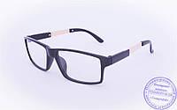 Имиджевые очки - Черные - 1695