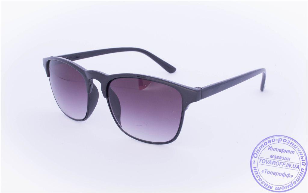 Солнцезащитные очки классической формы - Черные - 2015-201