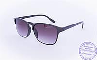 Солнцезащитные очки классической формы - Черные - 2015-201, фото 1