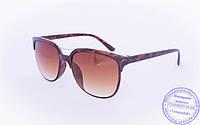 Солнцезащитные очки классической формы - Черные - 2015-204