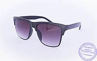 Солнцезащитные очки классической формы - Черные - 2015-228, фото 1