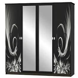 Шкаф Ева 4Д Мебель-Сервис