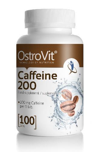 OstroVit Caffeine 200 мг - 110 tabs