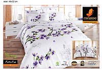 Постельное белье Mariposa Двуспальный Евро комплект Бамбук Сатин