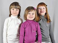 Гольф для девочки с гипюровыми рюшами TM Litle Angel