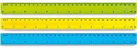 Лінійка пластикова Спектр 30 см