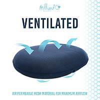 Подушка ортопедическая подушка-кольцо на сиденье Milliard, большая, фото 1