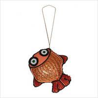 """Набор для вышивки пайетками  и бисером """"Рыбка"""""""