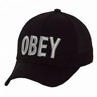 Бейсболка Obey черная