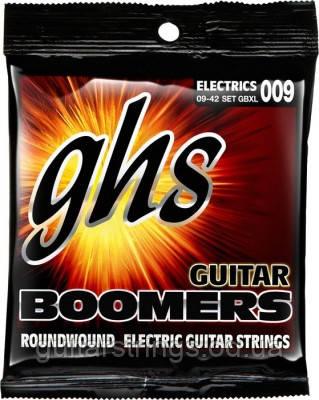 Струны GHS Boomers GBXL 9-42 Extra Light