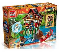 Конструктор Brick Enlighten серия Пиратские легенды 1309 (Колдовскрй замок), фото 1