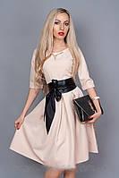 Женское платье Ангелина (крем)