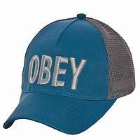 Бейсболка Obey бирюза