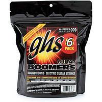 Струны GHS Boomers GBXL-6P 9-42 Extra Light 6 sets