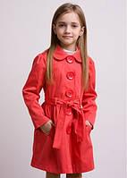 Модный и удобный плащ для девочки