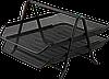 Лоток горизонтальный  2-х ярусный, метал ВМ.6250-01 (черн)