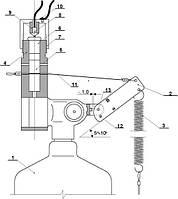 Устройство пиротехнического пуска УП-3