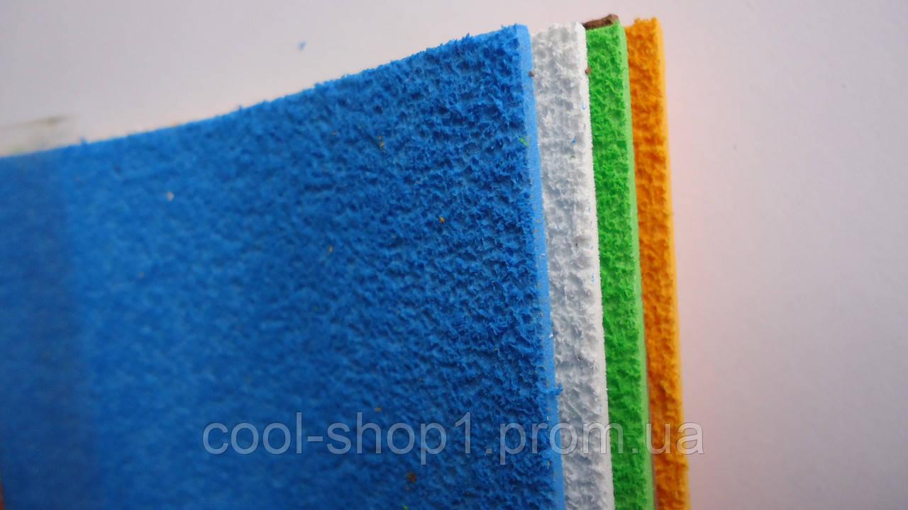 Цветная пористая резина и пластик - Брауберг - 79 87