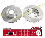 """Диск гальмівний передній вентильований Ланос Сенс Lanos Sens 1.5 (13"""") ABE C30002ABE\90121445, фото 4"""