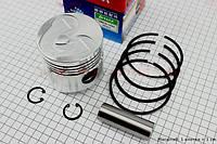 Поршень, кольца, палец к-кт 80мм STD (с выборкой под клапана) TATA  (R175-180N)