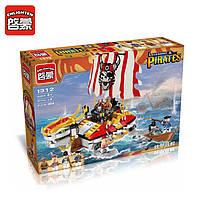 Конструктор Brick Enlighten серия Пиратские легенды 1312 (Корабль-Дракон), фото 1