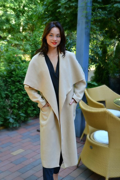 Кашемировое пальто норма и батал