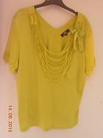 Блуза с ожерельем из бисера