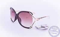 Оптом женские солнцезащитные очки - Коричневые - 234, фото 1