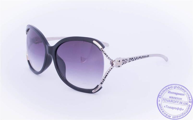 Оптом женские солнцезащитные очки - Черные - 234, фото 2