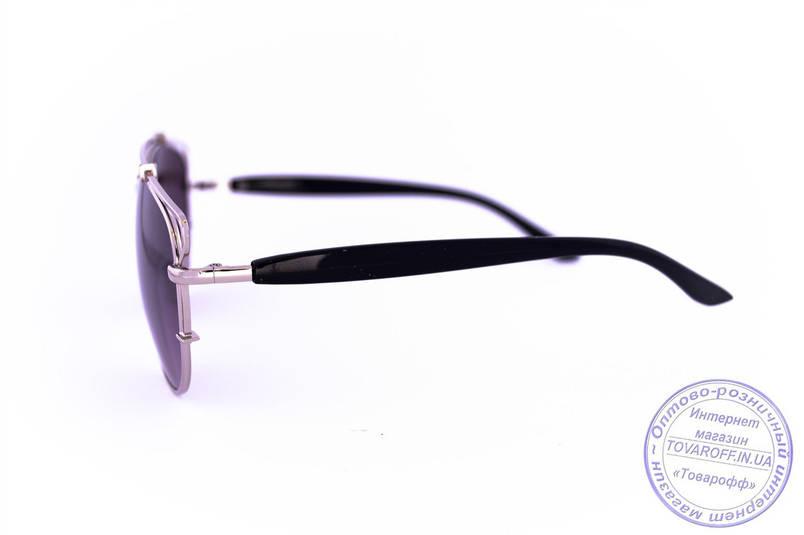 Оптом солнцезащитные очки унисекс Авиатор - Стальные - 955, фото 2