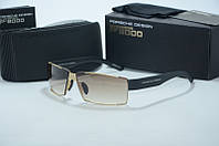 Солнцезащитные очки  Porsche Design мужские коричневые, фото 1