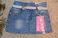 Джинсовая юбка для девочек  Grace 116-146 см