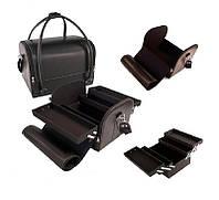 Чемодан мастера 2700-1BB YRE, стильная сумка для визажиста, кейс для парикмахера