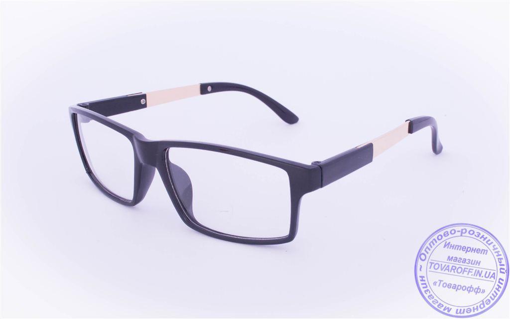 Оптом имиджевые очки - Черные - 1695