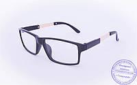 Оптом имиджевые очки - Черные - 1695, фото 1