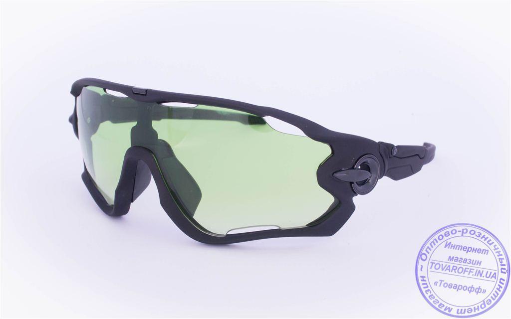 Оптом тактические очки-маска - Черные - 2002