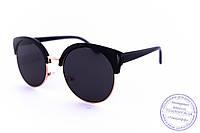 Оптом солнцезащитные очки Броулайнеры - Черные - 1227, фото 1