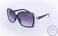 Оптом женские солнцезащитные очки - Черные - 9112, фото 1