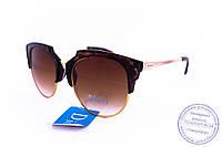 Оптом брендовые солнцезащитные очки Dior Clubmaster - Леопардовые - 2015-107, фото 1