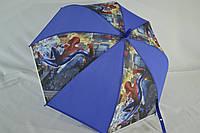 """Детский зонтик трость для мальчиков на 5-9 лет от фирмы """"Paolo""""."""