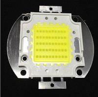 Мощный светодиод 50W cверхяркий 4500-5000LM теплый белый
