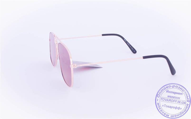 Оптом брендовые солнцезащитные очки с цветными зеркальными линзами - RB-1, фото 2