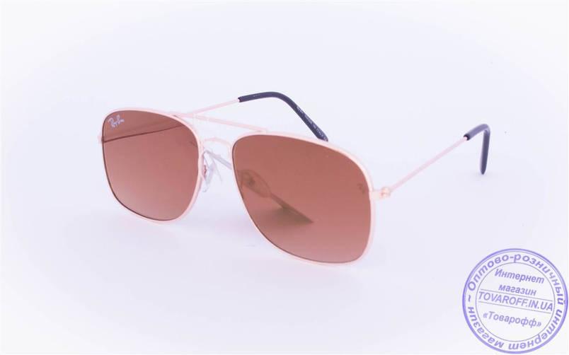 Оптом брендовые солнцезащитные очки Ray Ban с цветными зеркальными линзами - RB-2, фото 2