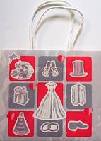 Пакет свадебный для торта пкф-08