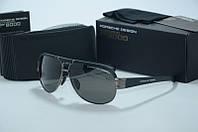 Солнцезащитные очки  Porsche Design мужские черные , фото 1