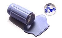 Прозрачный силиконовый штамп с скрапером., фото 1