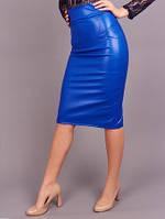 Красивая юбка из искусственной кожи