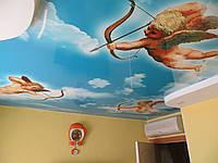 """Натяжной потолок """"облака"""""""
