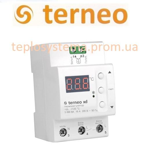 Терморегулятор Terneo xd для  систем охлаждения и вентиляции (на DIN-рейку), Украина